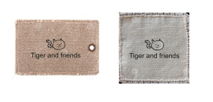 Tiger labels